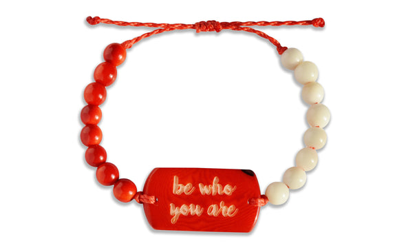 Be Who You Are - Beaded, Beaded Bracelet, Hola Hola® - Hola Hola™
