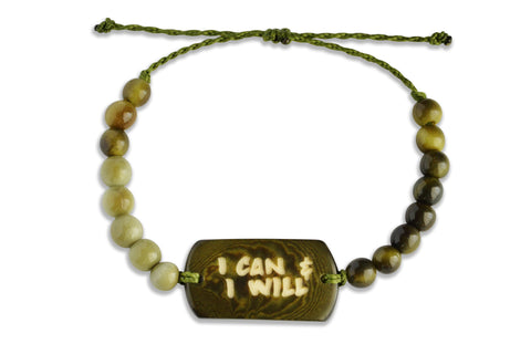 I Can & I Will - Beaded, Beaded Bracelet, Hola Hola® - Hola Hola™
