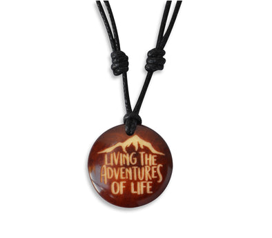 Living the Adventures of Life - Necklace, Necklace, Hola Hola® - Hola Hola™