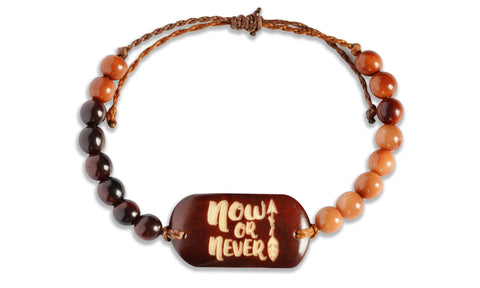 Now or Never - Beaded, Beaded Bracelet, Hola Hola® - Hola Hola™