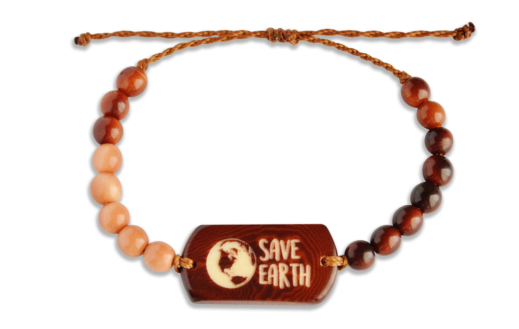 Save Earth - Beaded, Beaded Bracelet, Hola Hola® - Hola Hola™