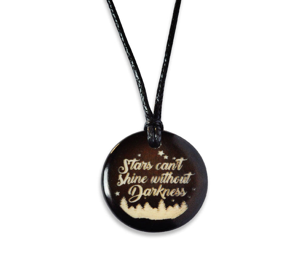 Stars Can't Shine Without Darkness - Necklace, Necklace, Hola Hola® - Hola Hola™