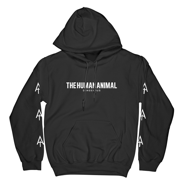 Hunt The Rich Black Hoodie