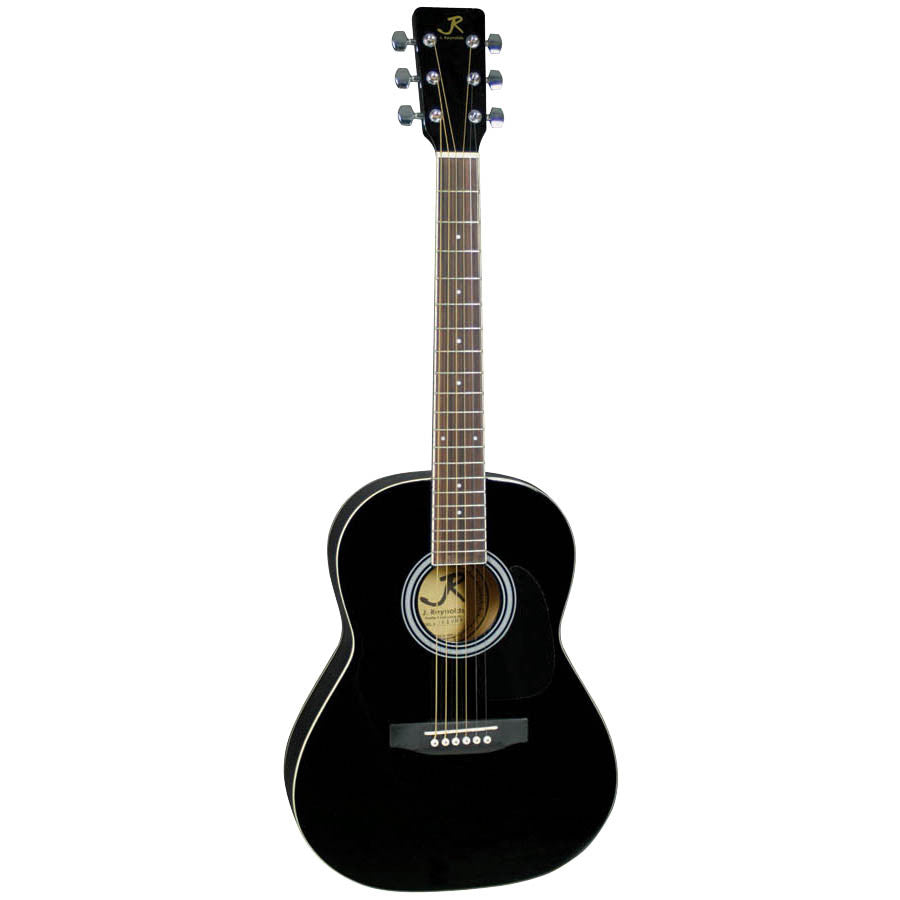 J Reynolds JR14BK 36-inch Acoustic Guitar, Black