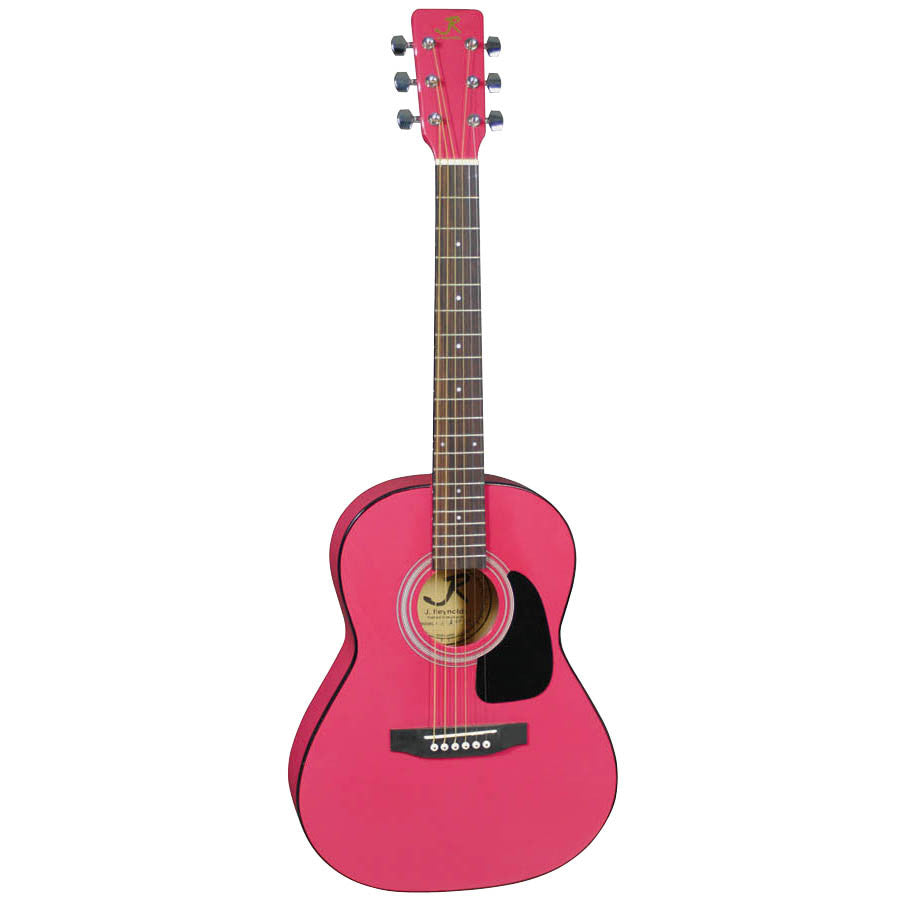 J Reynolds JR14PK 36-inch Acoustic Guitar, Pink