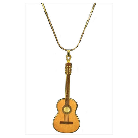 Classical Guitar Necklace