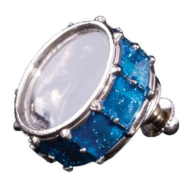 Snare Drum Pin, Blue