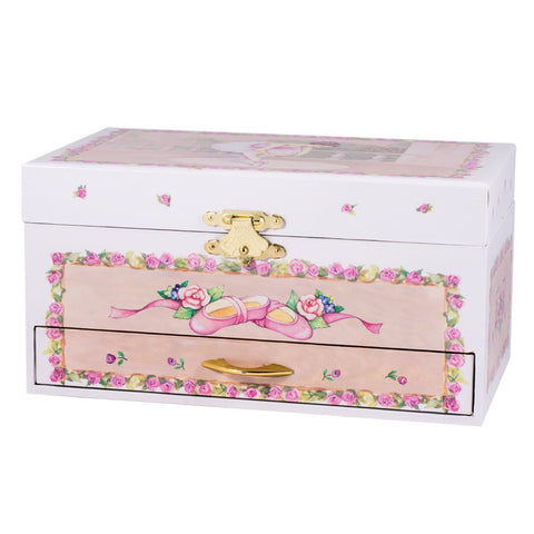Ballerina Musical Jewelry Box, Large