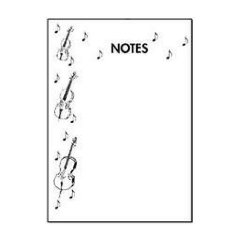 Orchestra Strings Notepad
