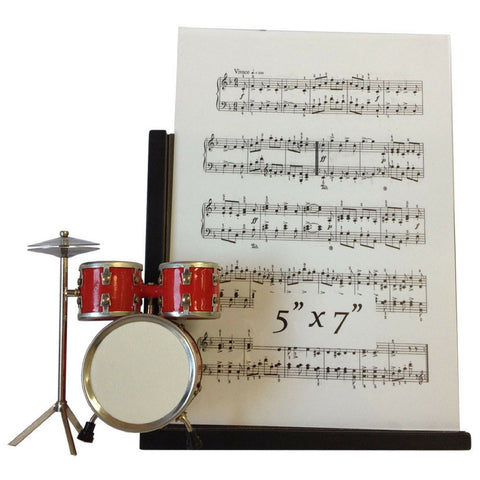 Music Instrument Picture Frame, Drum Set