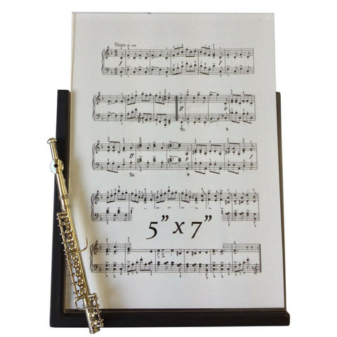 Music Instrument Picture Frame, Flute