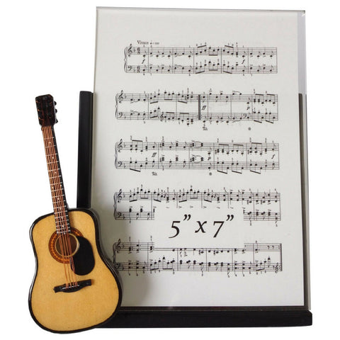 Music Instrument Picture Frame, Guitar