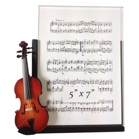 Music Instrument Picture Frame, Violin