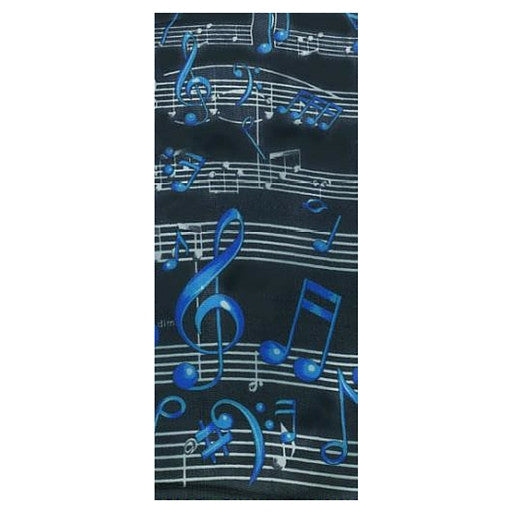 Blue Notes Music Scarf