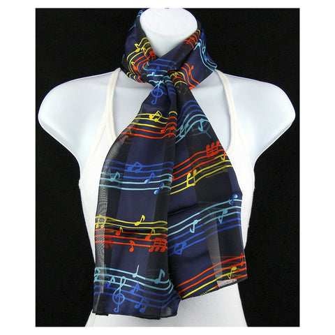 Colorful Staff Scarf