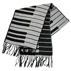 Keyboard Winter Scarf, Cashmere Feel