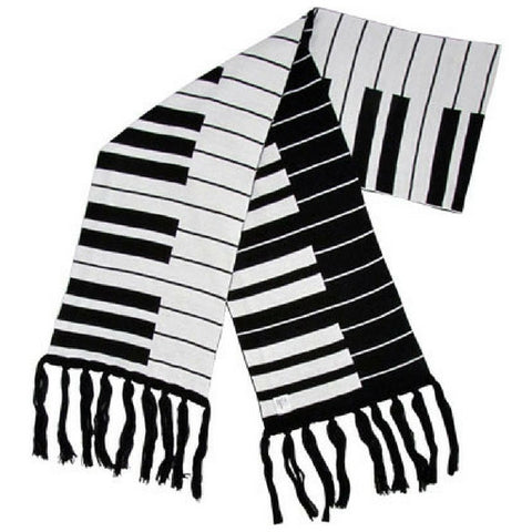 Knit Keyboard Scarf