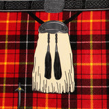 Insta-Kilt Beach Towel, Red Tartan
