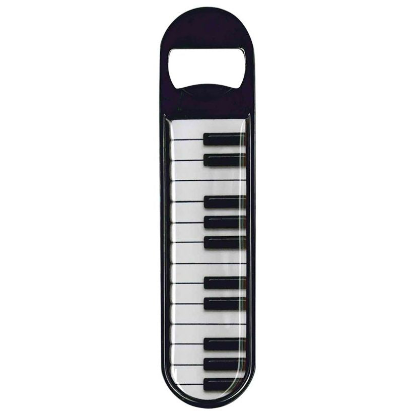 Magnetic Bottle Opener, Piano Keyboard