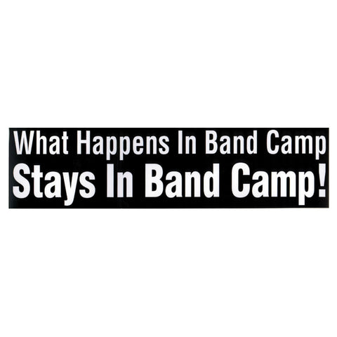 Bumper Sticker, Band Camp