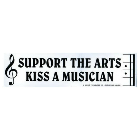 Bumper Sticker, Support the Arts