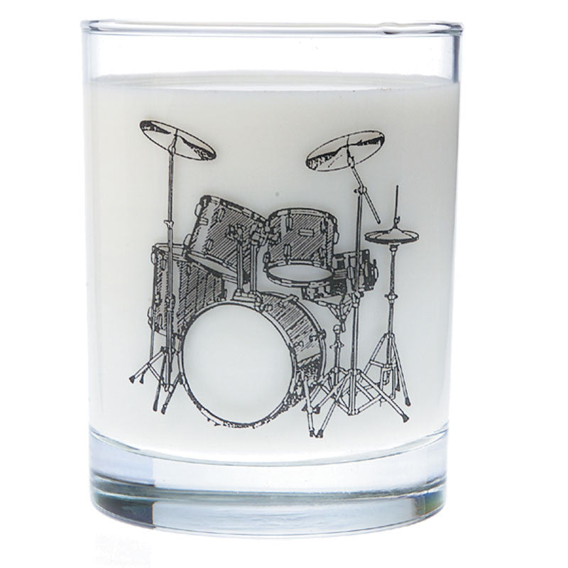 Glass Tumbler, Drum Set