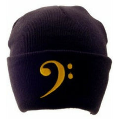 Knit Winter Hat, Bass Clef