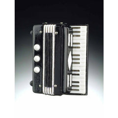 3-D Magnet, Accordion, Black