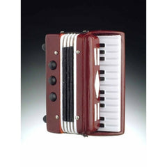 3-D Magnet, Accordion, Maroon