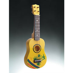 3-D Magnet, Ukulele, Tropical Design