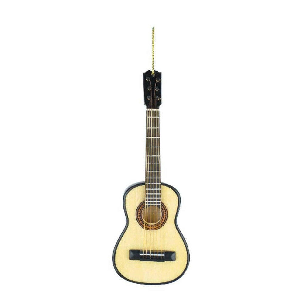 Classical Guitar Christmas Ornament