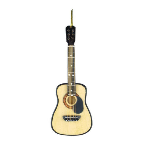 Acoustic Guitar Christmas Ornament