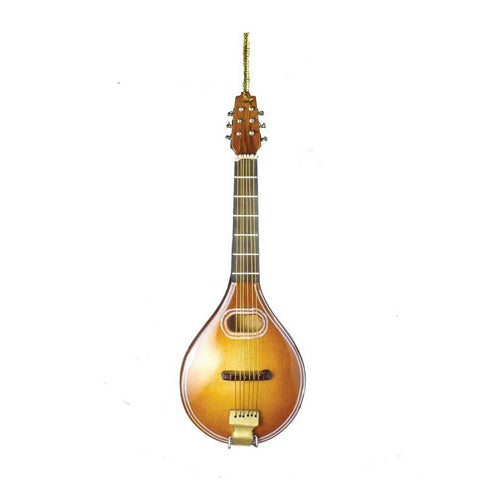 Mandolin Christmas Ornament