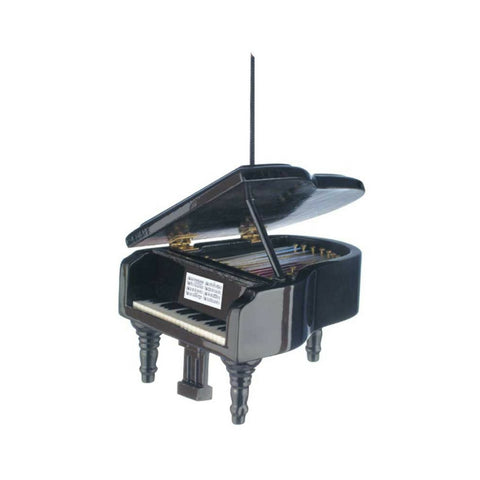 Grand Piano Ornament, Black