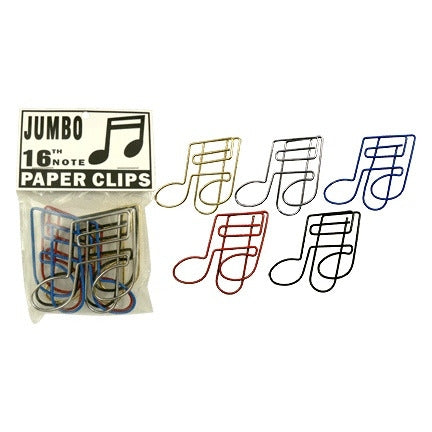 Paper Clips, Jumbo Music Notes