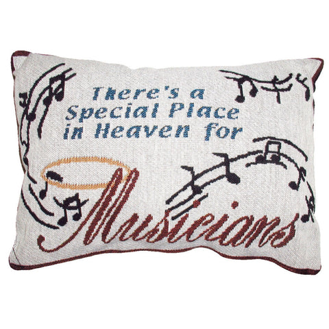 Word Pillow, There's a Special Place in Heaven for Musicians