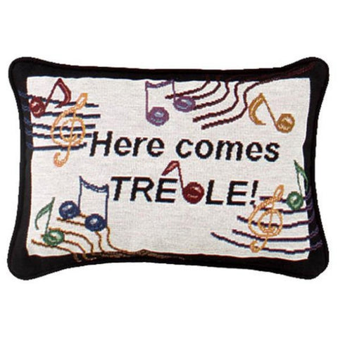 Word Pillow, Here Comes Treble