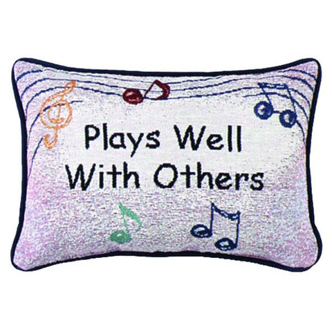 Word Pillow, Plays Well With Others