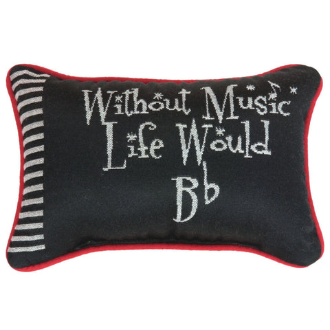 Word Pillow, Without Music, Life Would B-Flat