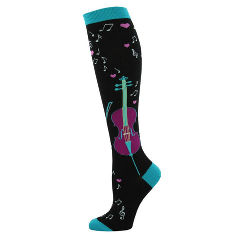 Women's Knee-High Socks, Cello