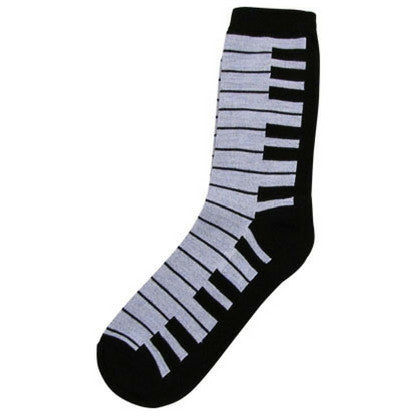 Women's Socks, Piano Keyboard