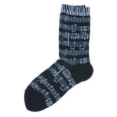 Women's Socks, Black Sheet Music