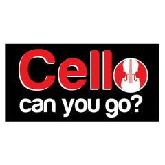 Cello Can You Go T-Shirt