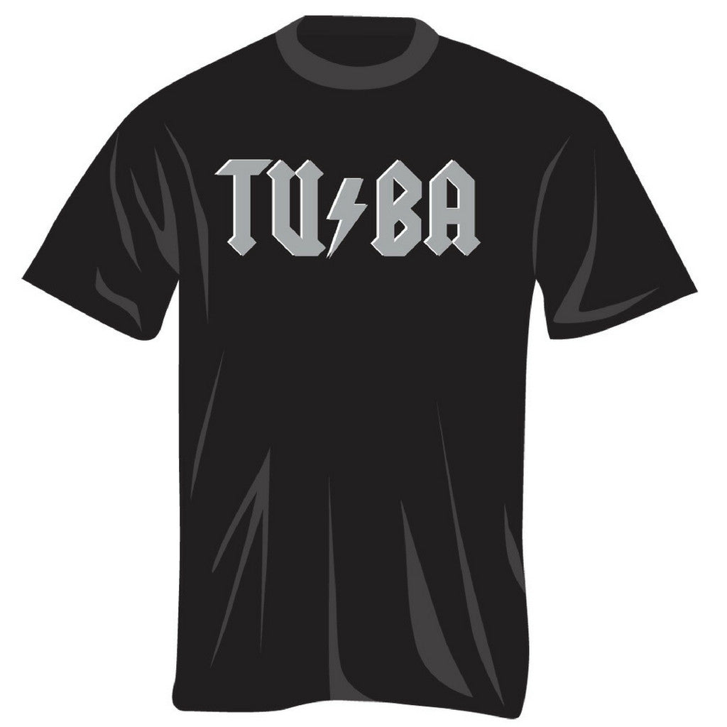 Tuba with Lightning Bolt T-Shirt