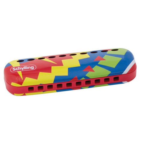 Colorful Tin Harmonica