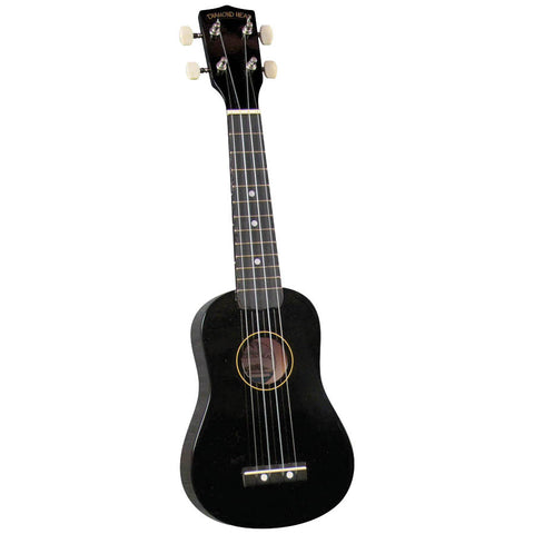 Diamond Head DU-100 Soprano Ukulele, Black