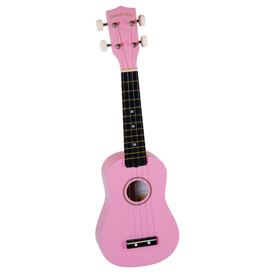 Diamond Head DU-110 Soprano Ukulele, Pink