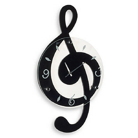 G-Clef Musical Wall Clock