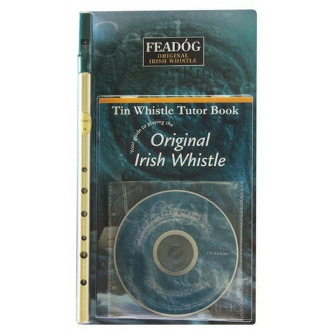 Feadóg Tin Whistle Gift Pack - Whistle, Book and CD