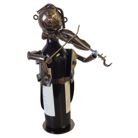Wine Bottle Holder, Violin Player